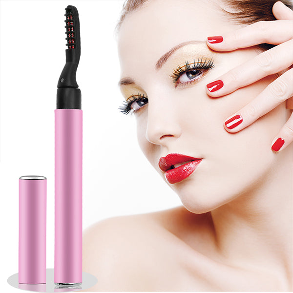 New Mini Electric Heated Eyelash Curler
