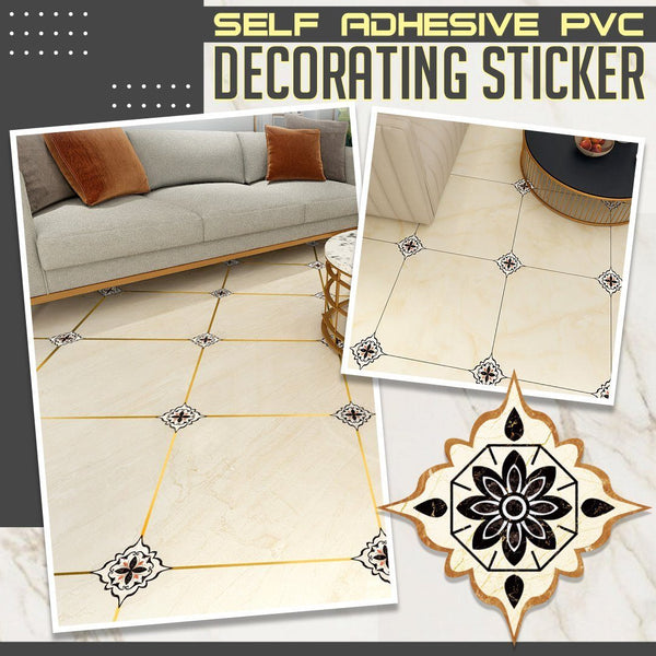 Self Adhesive PVC Decorating Sticker