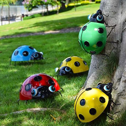 Garden yard decoration beetle