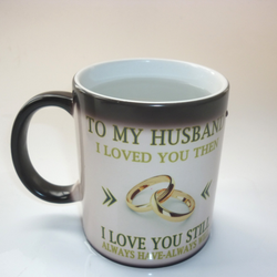 Husband & Wife Changing Color Mugs