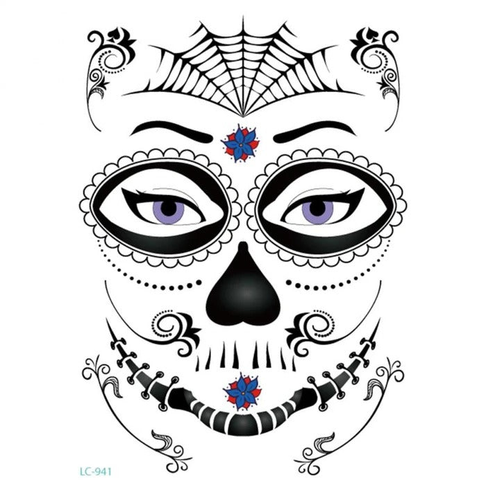HALLOWEEN WATERPROOF TEMPORARY TATTOO STICKER
