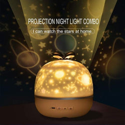 360 Rotation Starry Sky Projector Lamp
