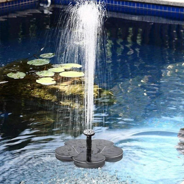 【50% Off】Solar Powered Fountain,Add Fun To Your Life