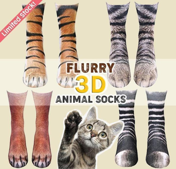 3D Wild Cat Paw Socks 🔥Best Sellers🔥