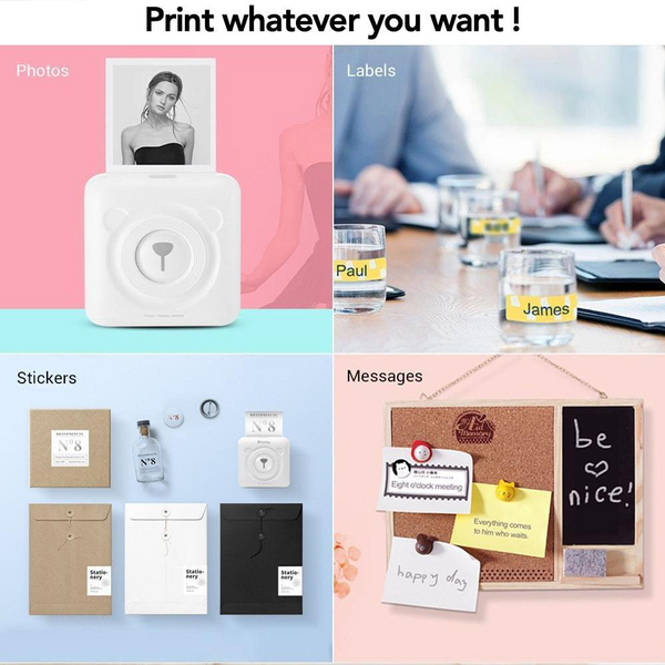 🔥 2020 Hot Sales! - 50% OFF Portable Smart Photo Printer