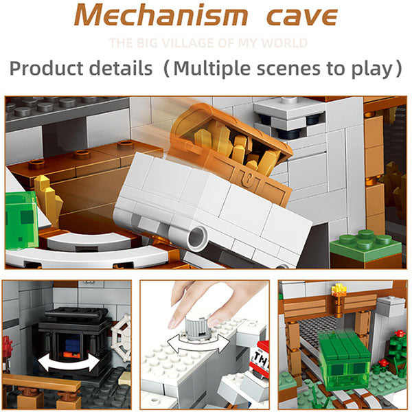 (Last Day Promotion) The Mountain Cave Building Kit