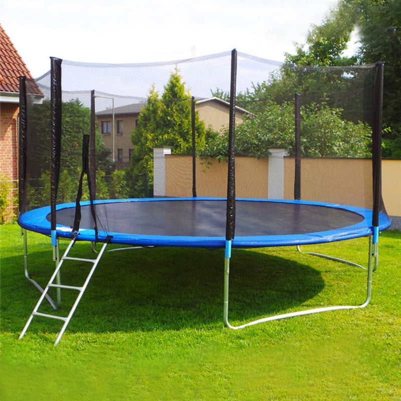 Kids Trampoline With Enclosure Net(Free Trampoline Water Sprinkler)