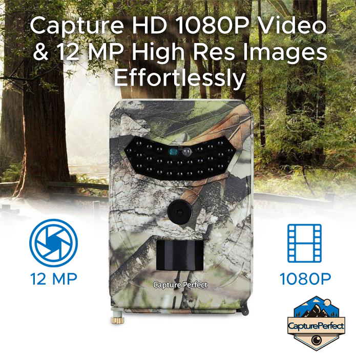 CapturePerfect™️ - Clear Vision Hunting Cam