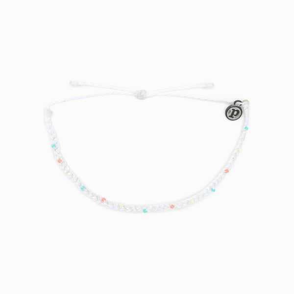 Mini Braid & Bead Anklet