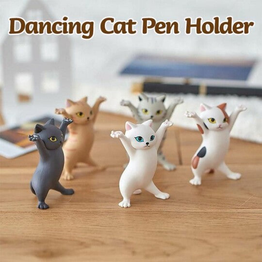 DANCING CAT PEN HOLDER(50%OFF)