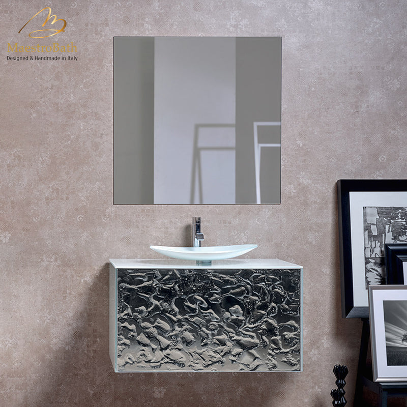 High End Single Bathroom Vanity