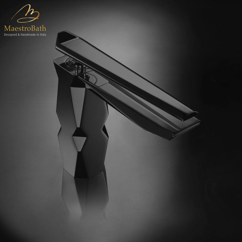 IKON High-End Bathroom Faucet | Black