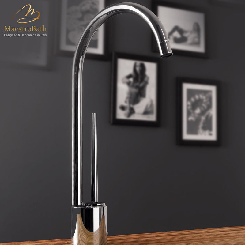 Tropic CHROME | Modern Chrome Kitchen Faucet