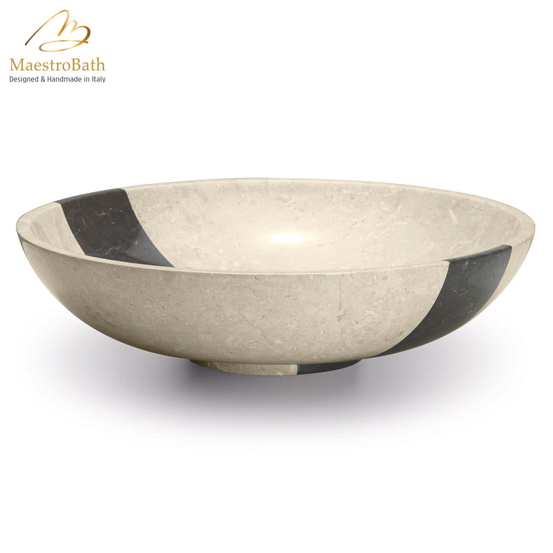 Stone Coplato Beige Contemporary Natural Stone Sink