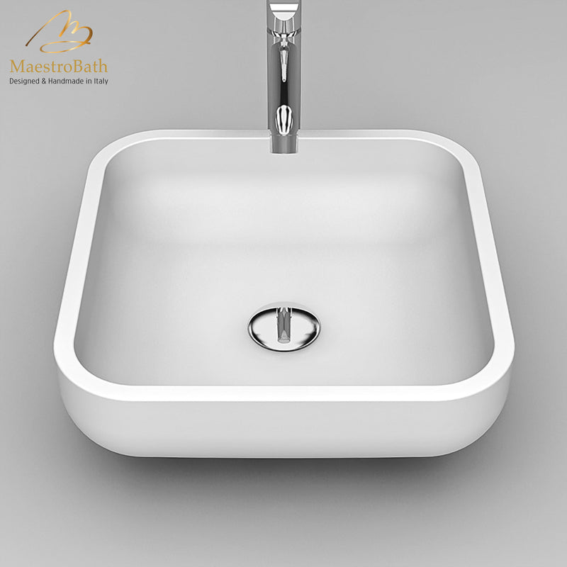 Teknoform Jimmy Small White Luxury Sink