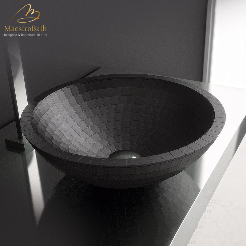 Black Vessel Sink