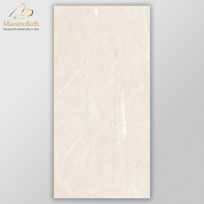 Bone Luxury Tile | Cream