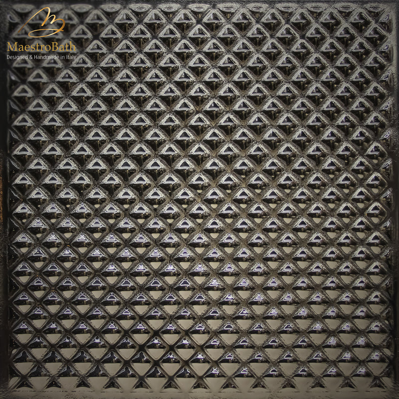 Lucent Luxury Tile | Bronze/Silver
