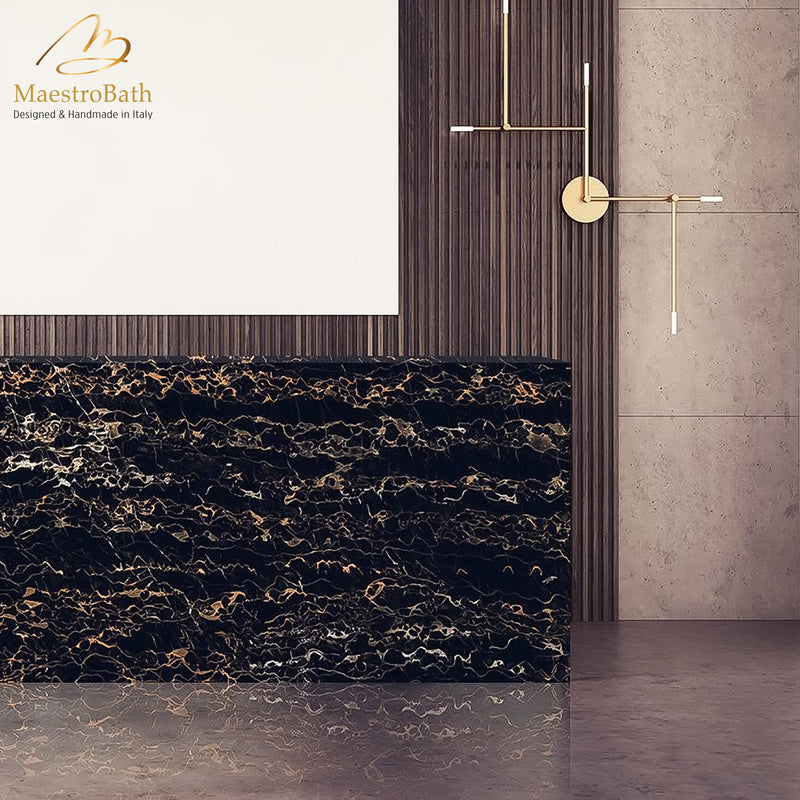 Port Luxury Tile | Black
