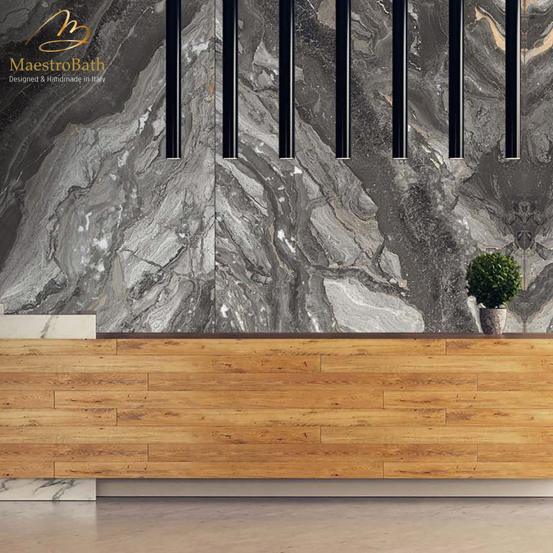Rock Luxury Tile | Grey