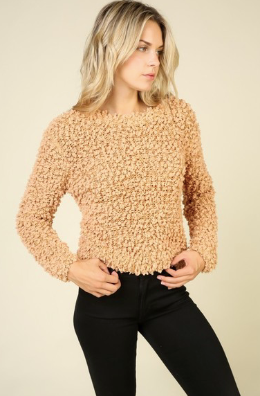 Boucle Sweater Pumpkin