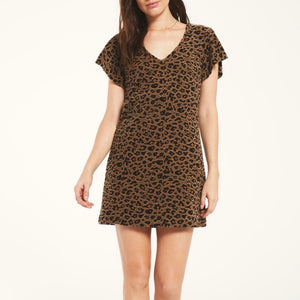 Jacquard Toffee Dress