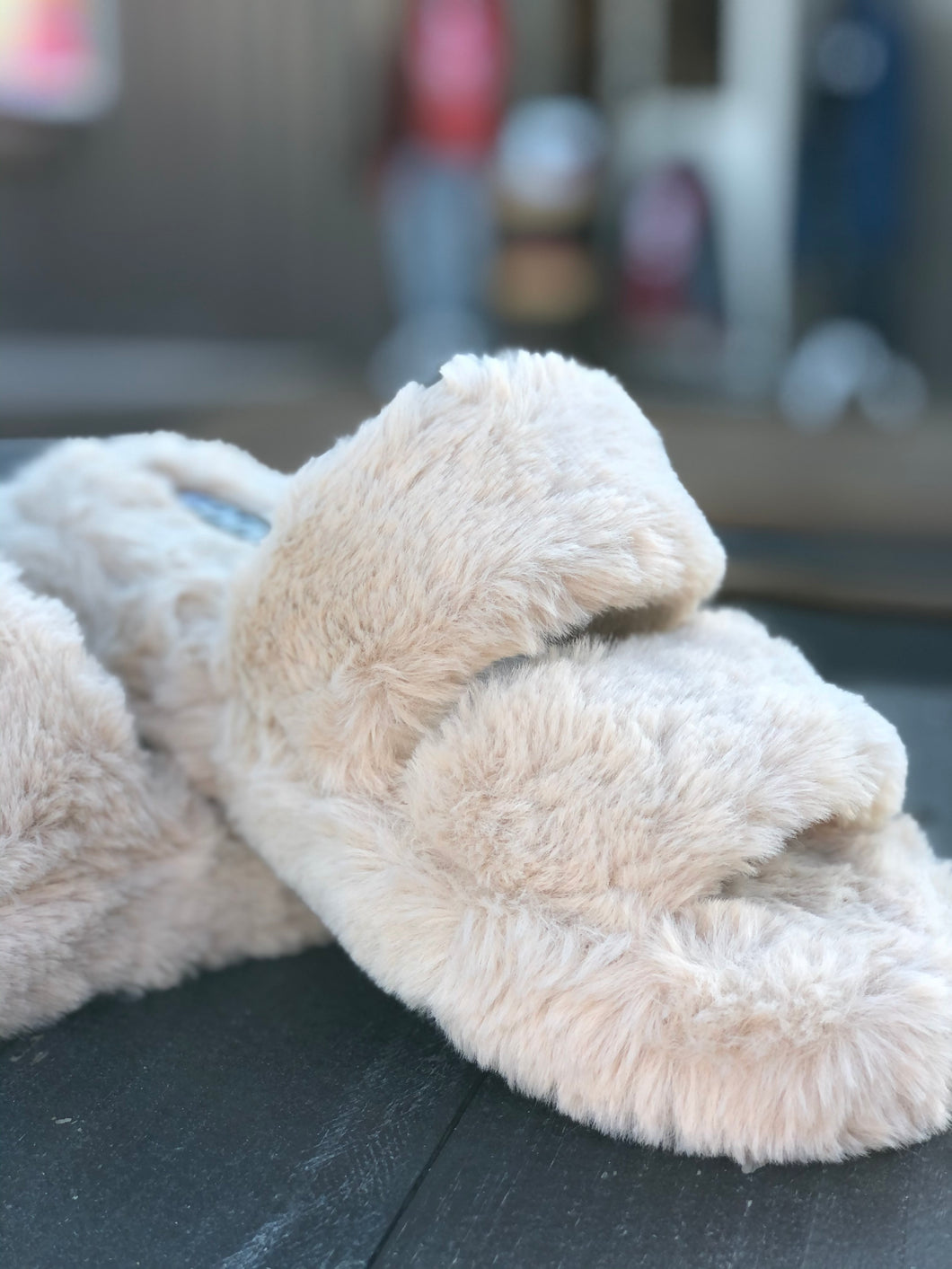 Fuzzy Furry Fluffy Slippers