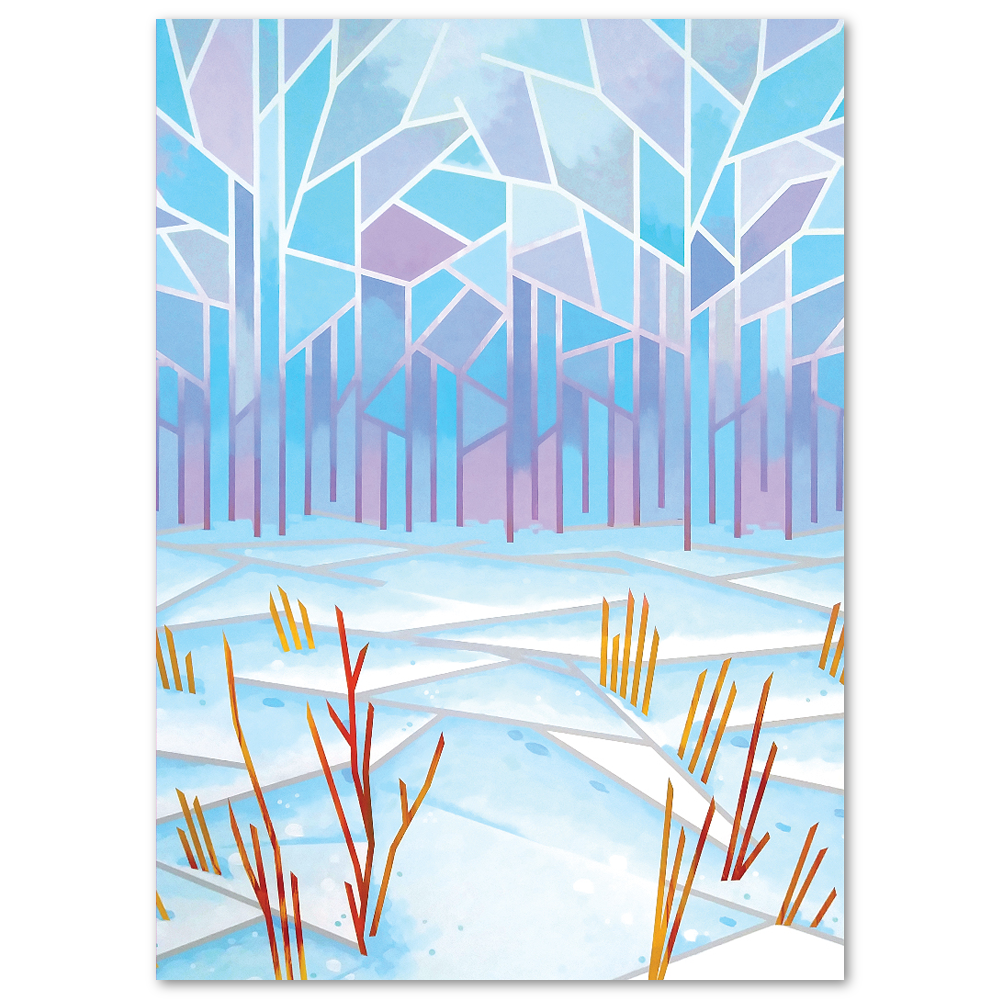 Cool Abstract Greeting Cards