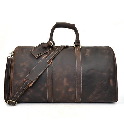 Expedition Leather Duffel Bag - Grittyrustic