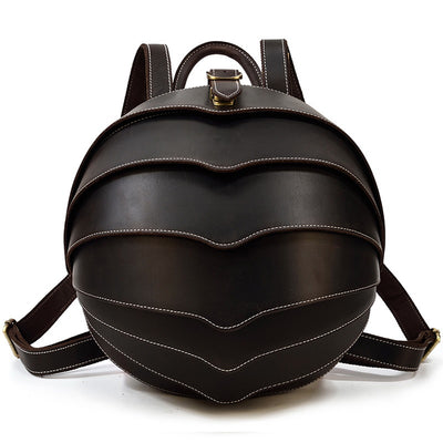 Rollie Polly Leather Backpack-Grittyrustic
