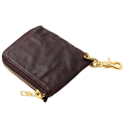Urbanhide Coin Purse Full-Grain Leather Wallet - Grittyrustic