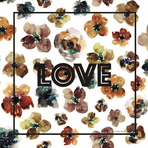 Love Floral Scarf | The Eccentric Label