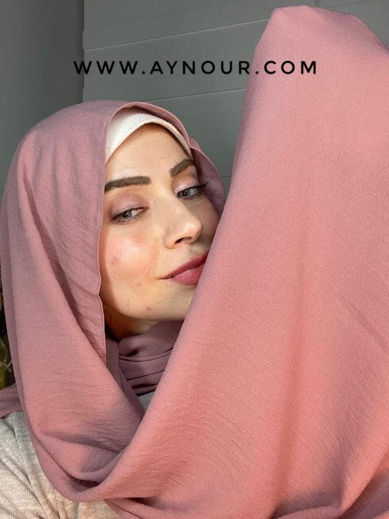 Kashmir classy non transparent luxurious fabric Hijab 2021 - Aynour.com