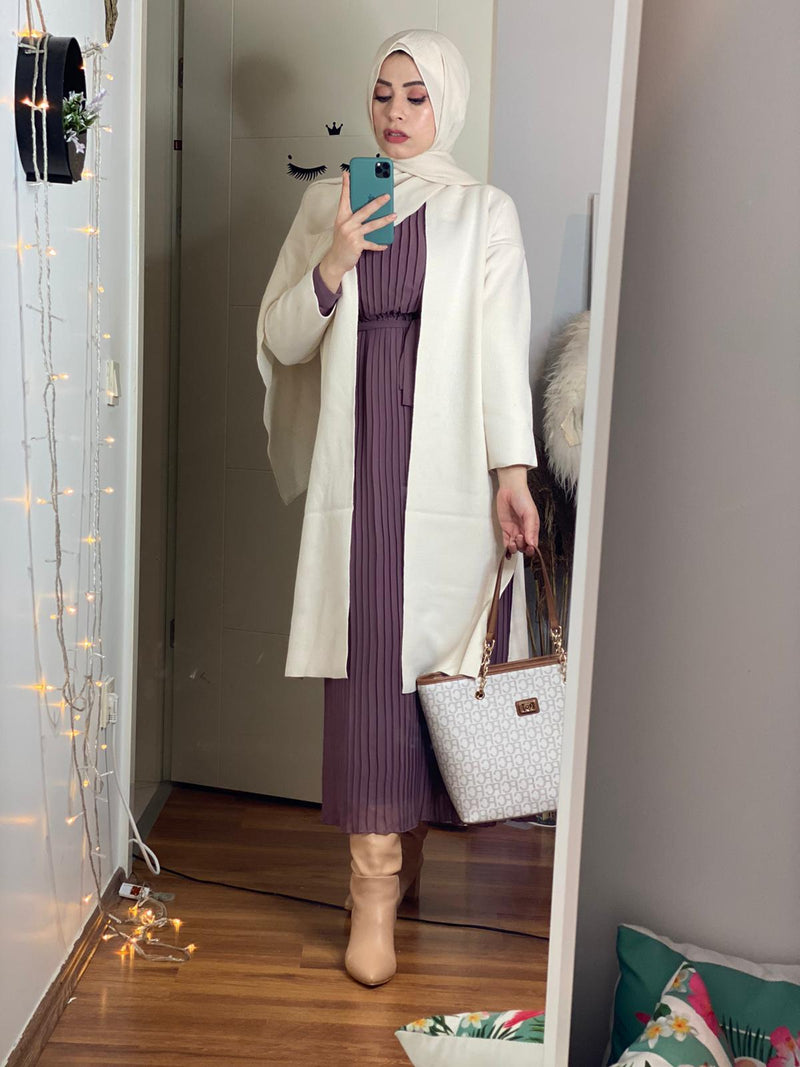 Long Winter Tunic jacket Monto - Aynour.com