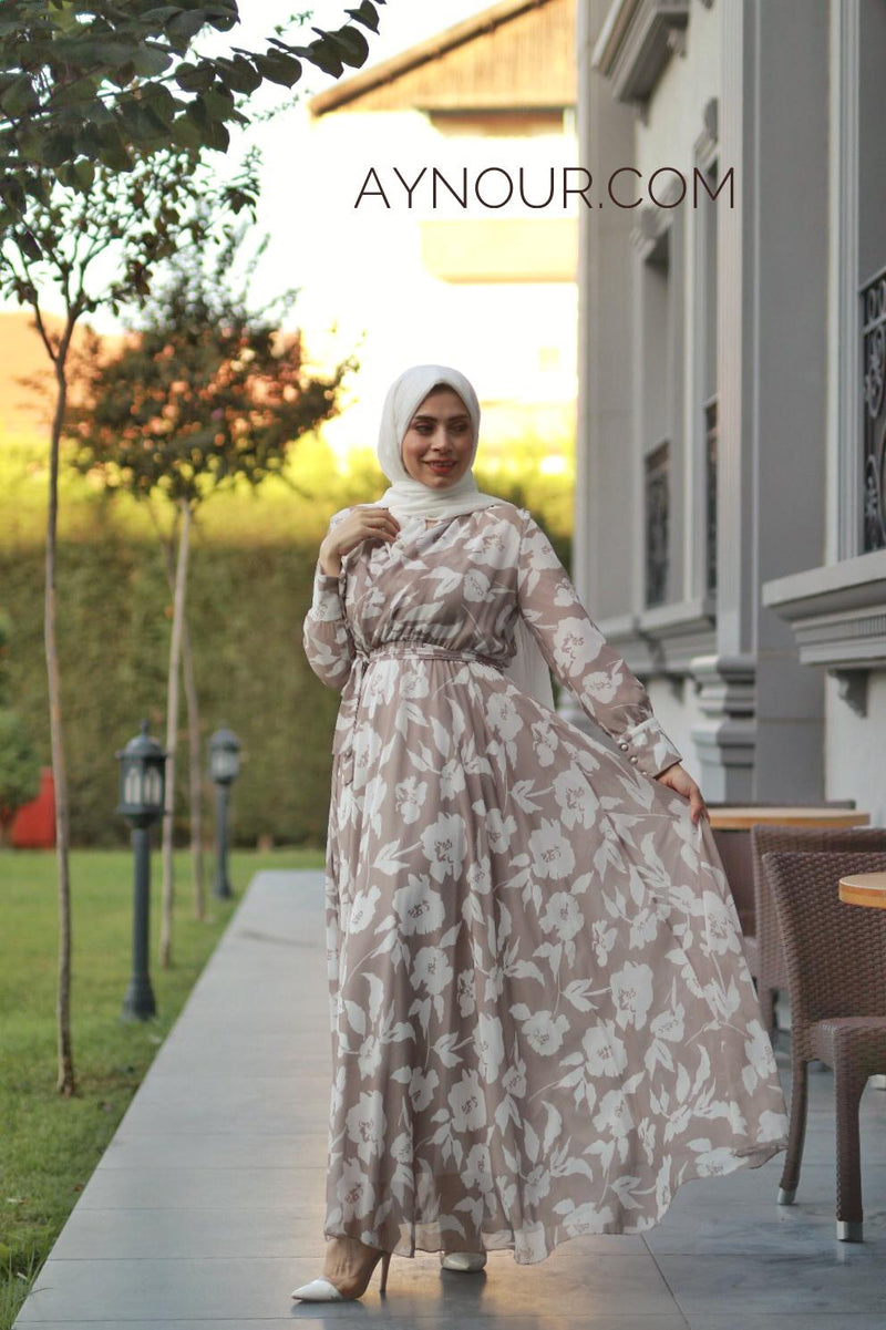 LOVE AND PEACE Modest Dress 2020 - Aynour.com