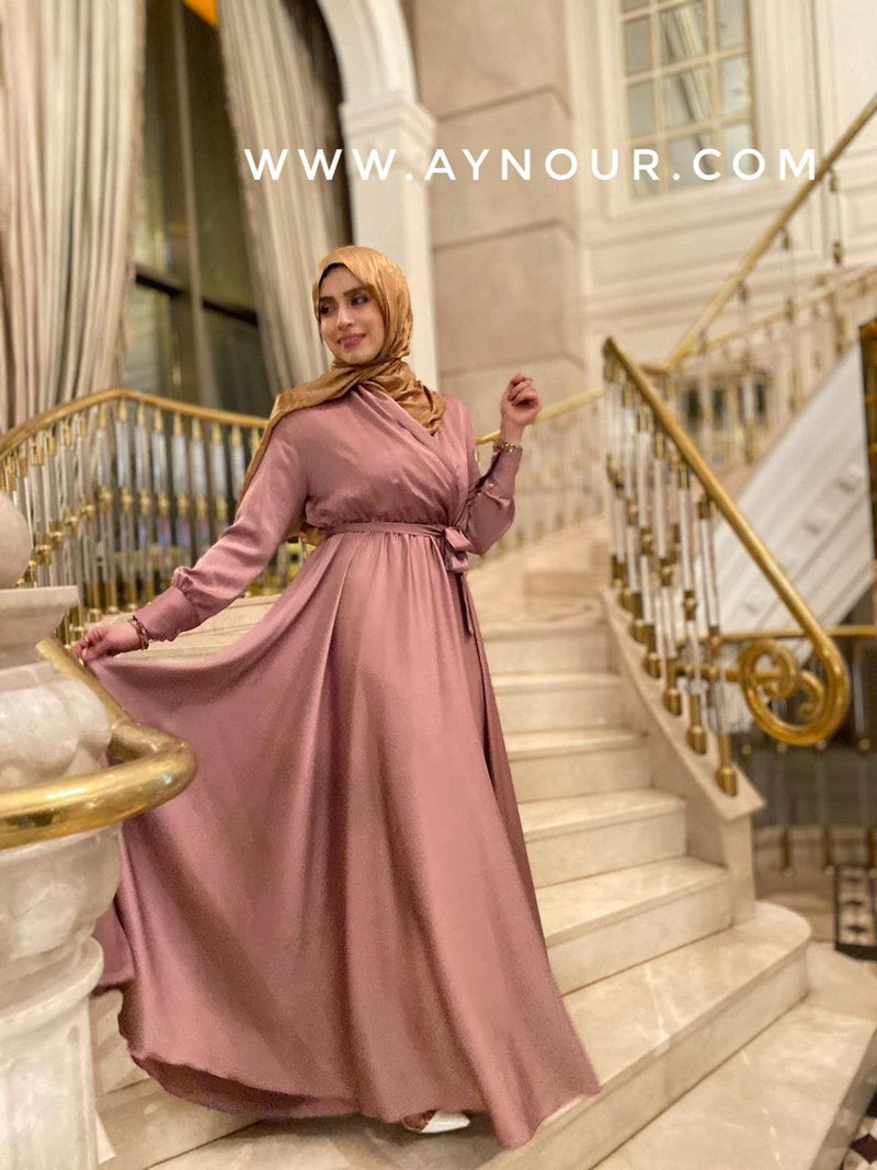 Rosy EVENT Modest Dress 2020 - Aynour.com