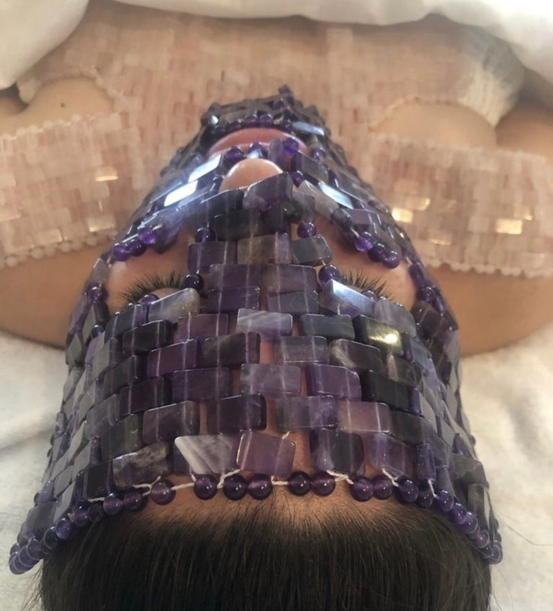 Amethyst Crystal mask - Beauty Comes True Academy