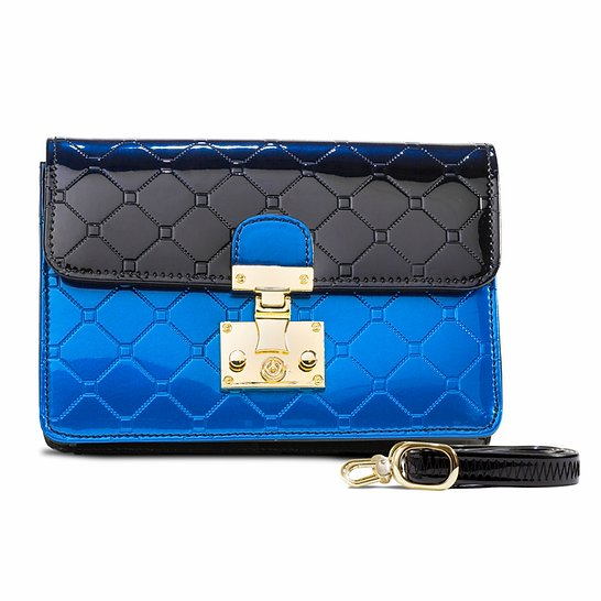 Julia Crossbody Clutch Day & Evening Bag Blue