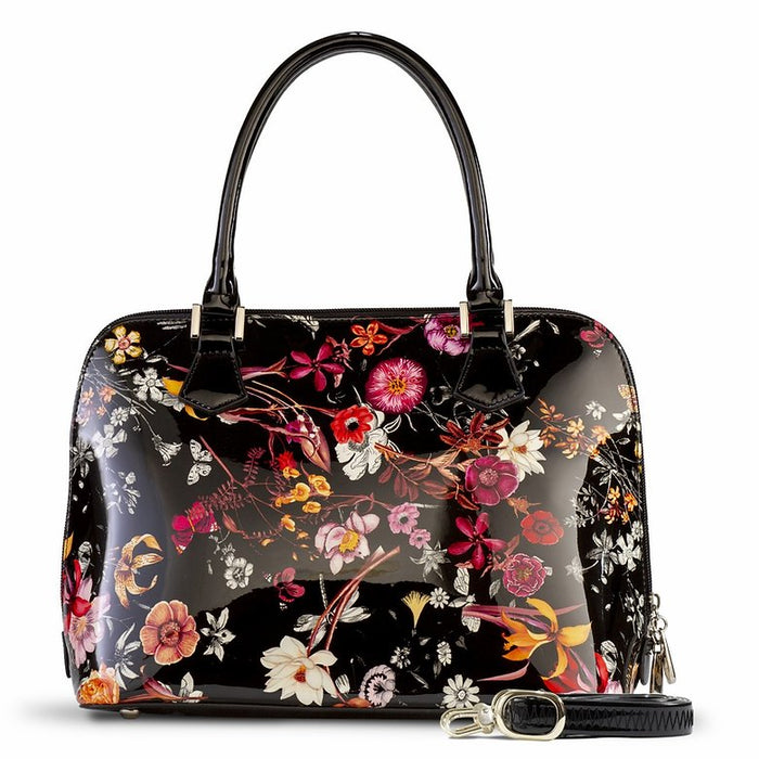 Anuta Medium Black Flower Print