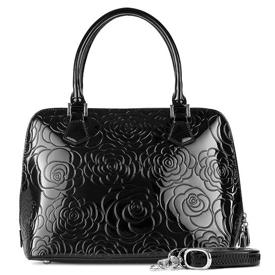 Anuta Black Medium Chanel Flower Print