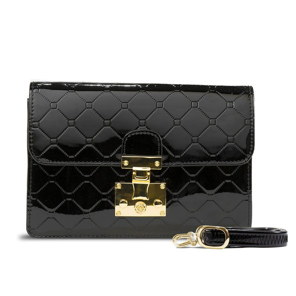 Julia Crossbody Clutch Day & Evening Bag Black