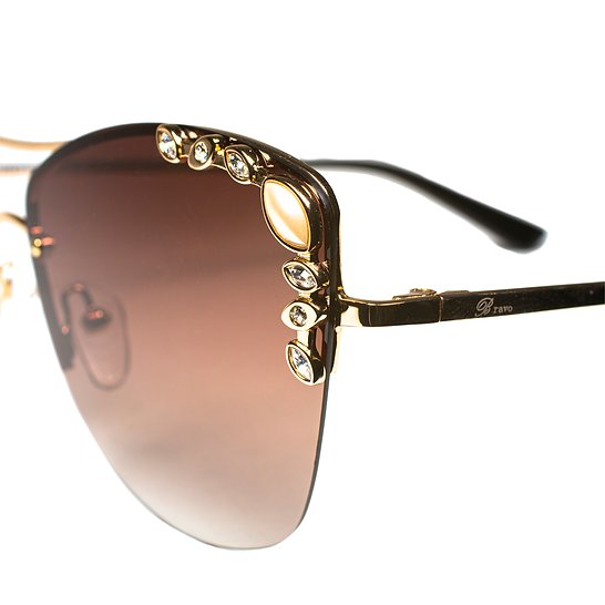 BV4270 C1 Bravo Pearl & Diamond Sunglasses