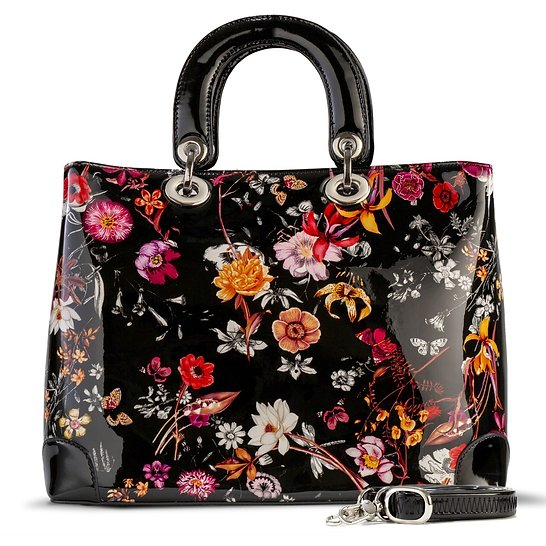 Galina Dior Style Night Blossom Flower Print (Large)