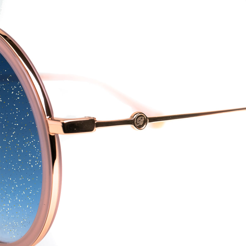 Bravo Gold Sparkle Collection Sunglasses - BV2003 C2