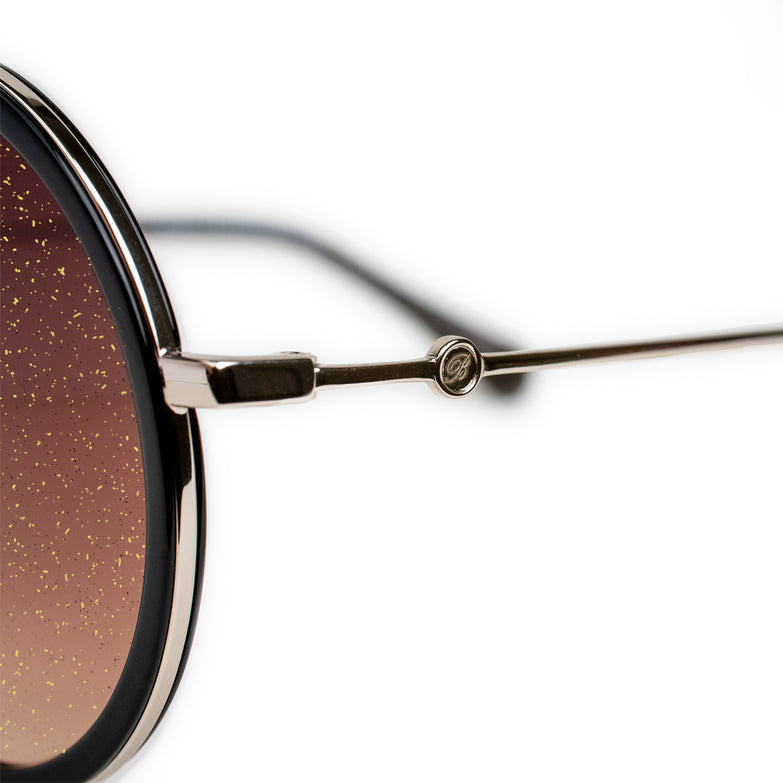 Bravo Gold Sparkle Collection Sunglasses  - BV2003 C3