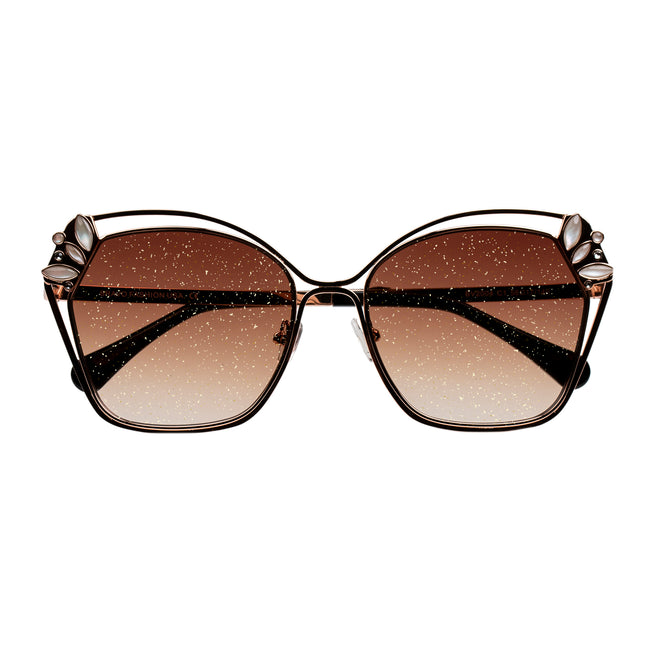 Bravo Gold Sparkle Collection Sunglasses - BV2004 C1