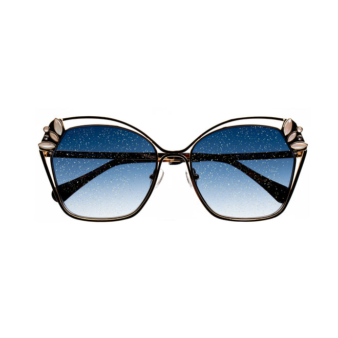 Bravo Gold Sparkle Collection Sunglasses - BV2004 C3