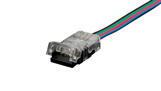 LED-to-Wire Gripper Connector