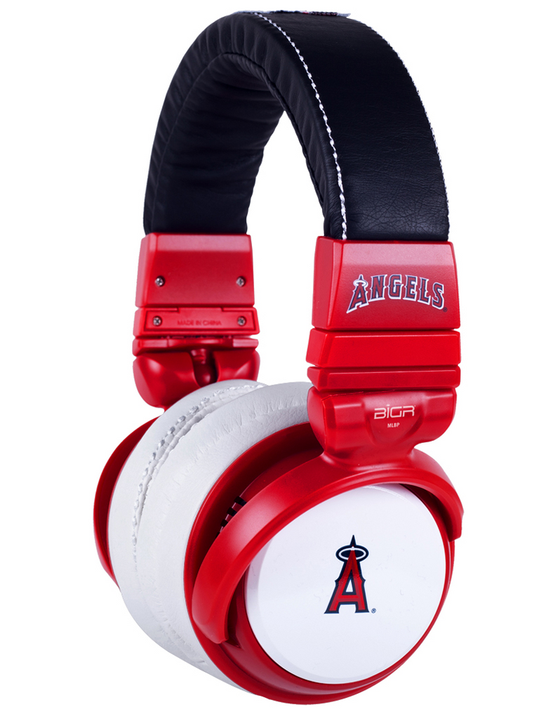 Anaheim Angels Red Headphones