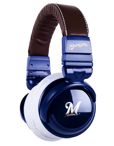 Milwaukee Brewers Headphones